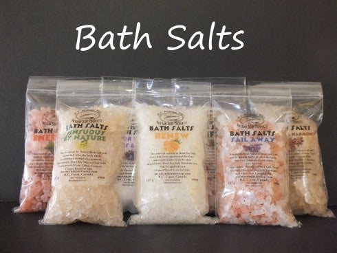 Bath Salts uplifting handmade