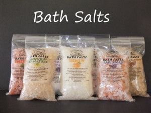 Bath Salts Sail Away handmade
