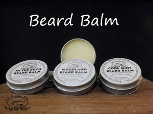 Beard  Balm cool mint handmade