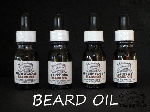 Beard oil handmade