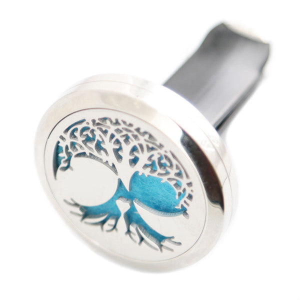 car diffuser-tree-stainless steel locket