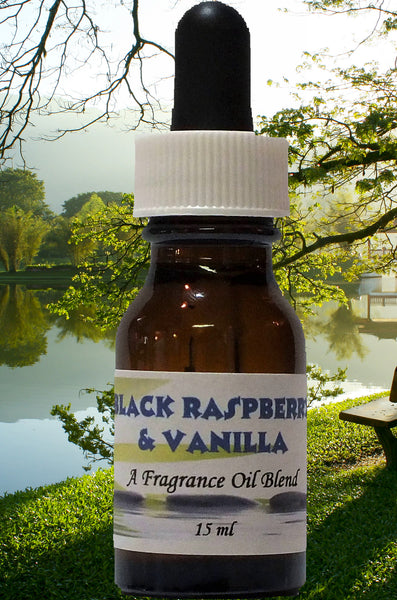 Fragrance Oil - 3 Bottles - Black Raspberry and Vanilla - Hawaiian Plumeria - Margarita - 15 ml each
