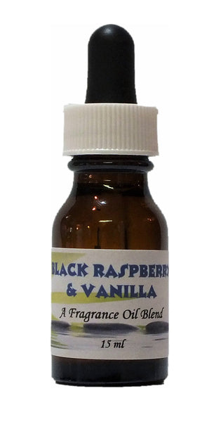 Fragrance Oil-Black Raspberry & Vanilla