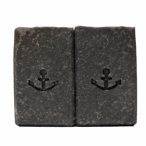 Activated Charcoal Facial Soap to help acne sufferers.