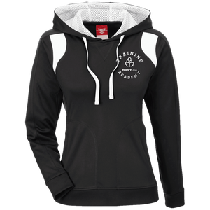 Training Academy Ladies' Colorblock Poly Hoodie