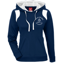 Load image into Gallery viewer, Training Academy Ladies' Colorblock Poly Hoodie