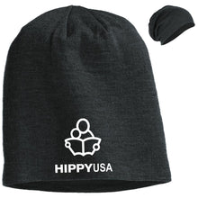 Load image into Gallery viewer, HIPPY USA  Embroidered   Slouch Beanie