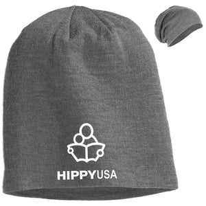 HIPPY USA  Embroidered   Slouch Beanie