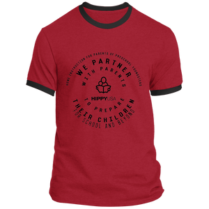 Mission Stamp Men's  Ringer Tee