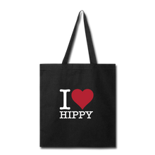 Load image into Gallery viewer, I Love HIPPY Tote - black