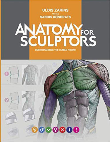 """Book cover of """"Anatomy for Sculptors"""""""