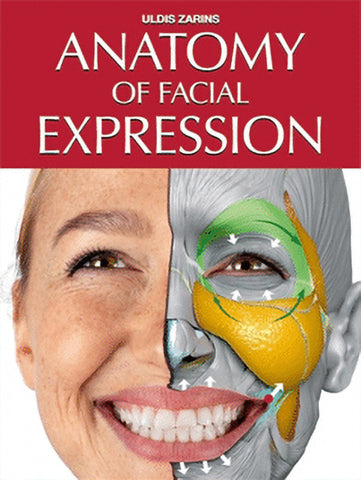 """Book cover of """"Anatomy of Facial Expression"""""""