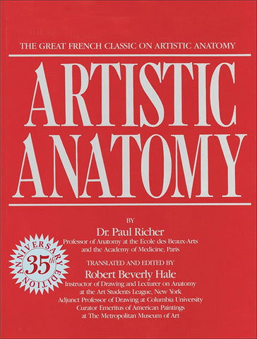 """Book cover of """"Artistic Anatomy"""""""