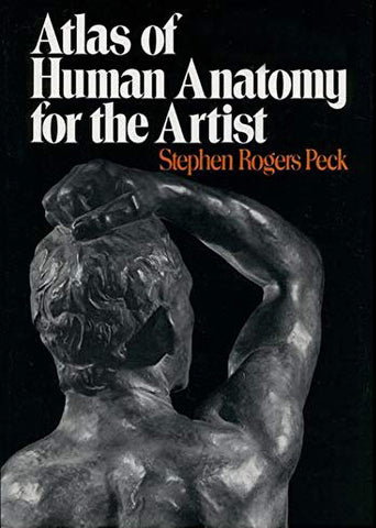 """Book cover of """"Atlas of Human Anatomy for the Artist"""""""