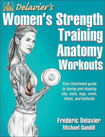 """Book cover of """"Women's Strength Training Anatomy Workouts"""""""