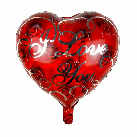 ballon love rouge