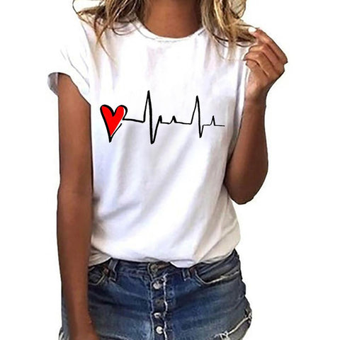 T-Shirt<br>Battement de Coeur
