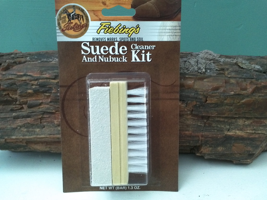 Suede Bar and Brush Kit