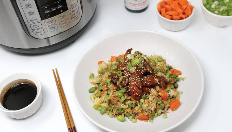 BACHAN'S INSTANT POT CHICKEN FRIED RICE