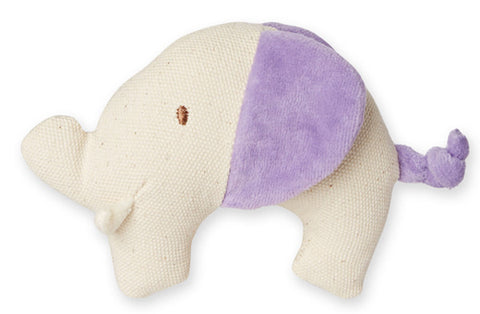 Canvas Knit Teether - Elephant