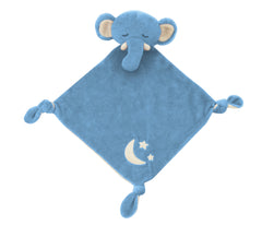 Sleepytime Lovie -  Blue Elephant