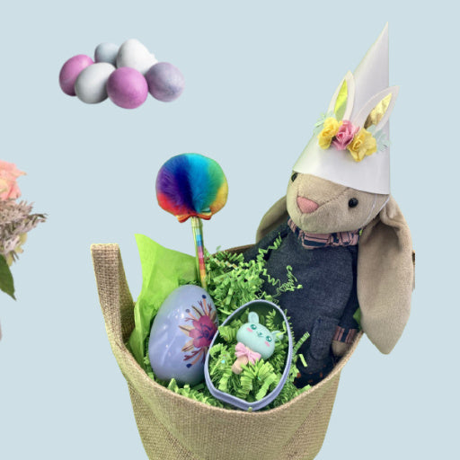 Easter Fun: Baskets, Bunnies & Blooms!