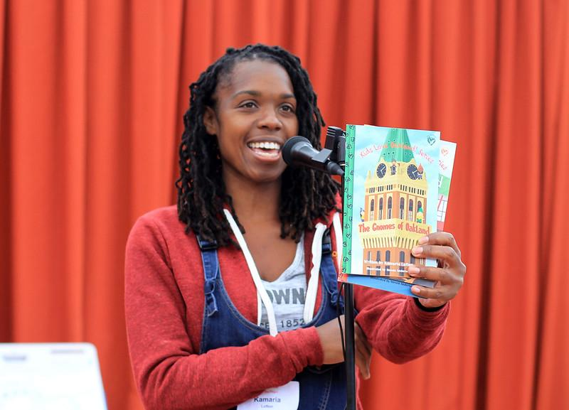 The Gnomes of Oakland by Kamaria Lofton