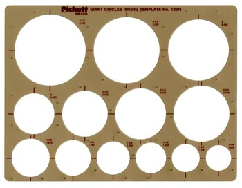 Giant Circles Template