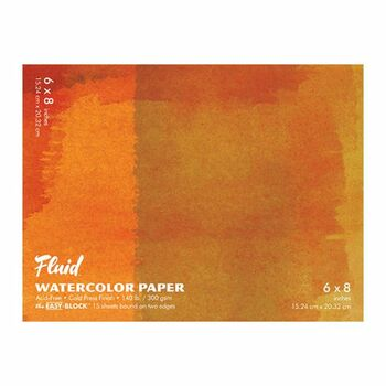Fluid Watercolor Blocks, Cold Press