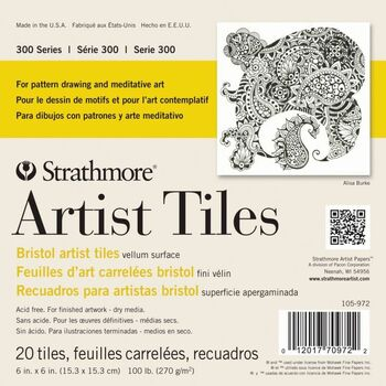 Strathmore Bristol Artists' Tiles Pad