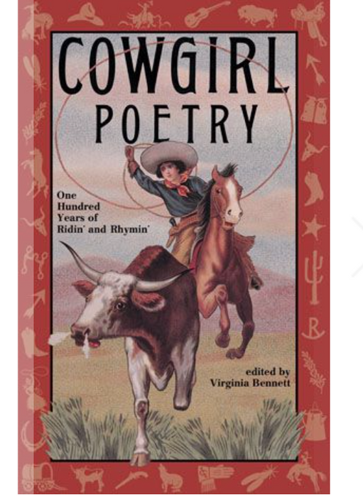 Cowgirl Poetry Book