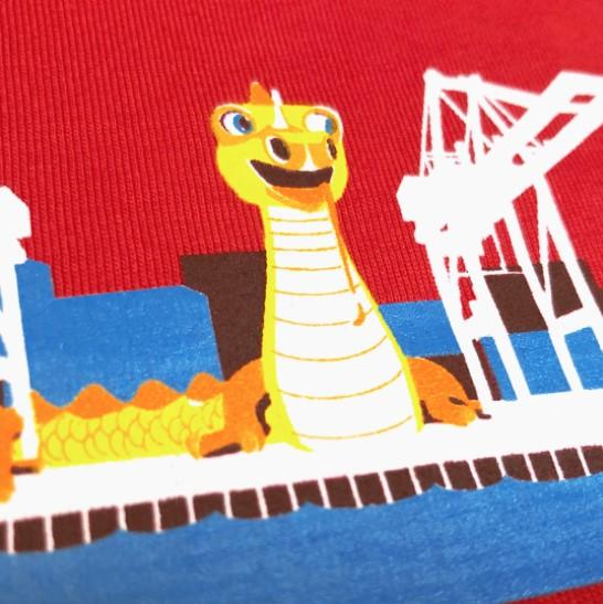 Toddler Happy Dragon tee