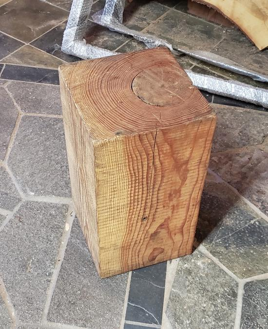 Wooden Block (Stool, Small Coffee Table)