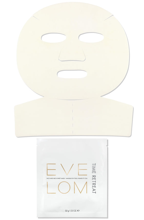 Time Retreat Face and Neck Sheet Mask - Single Mask