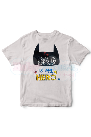 Playera Kids. My dad hero (PREVENTA)