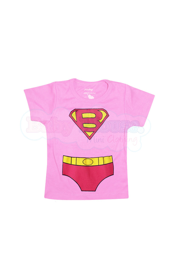 Playera Kids . Super baby Girl