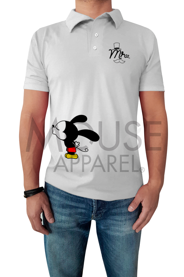 Playera Caballero Tipo polo. Mr. Mouse
