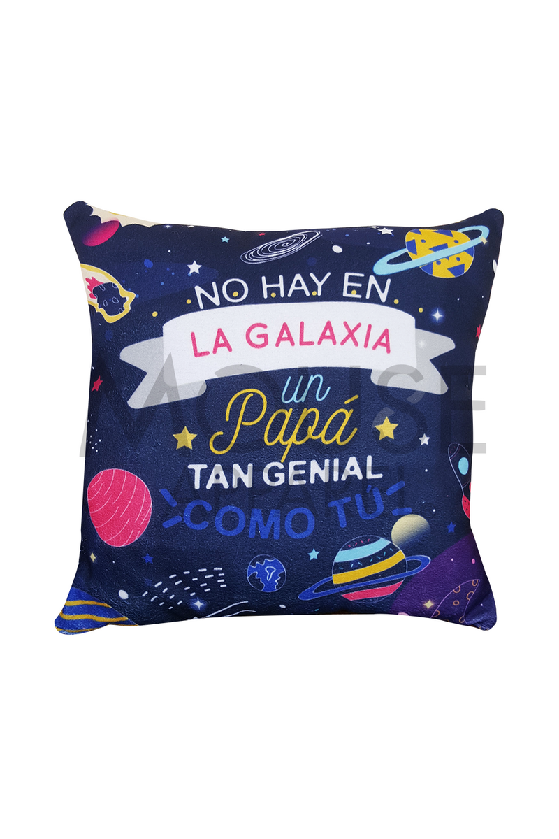 Cojín decorativo. Galaxia
