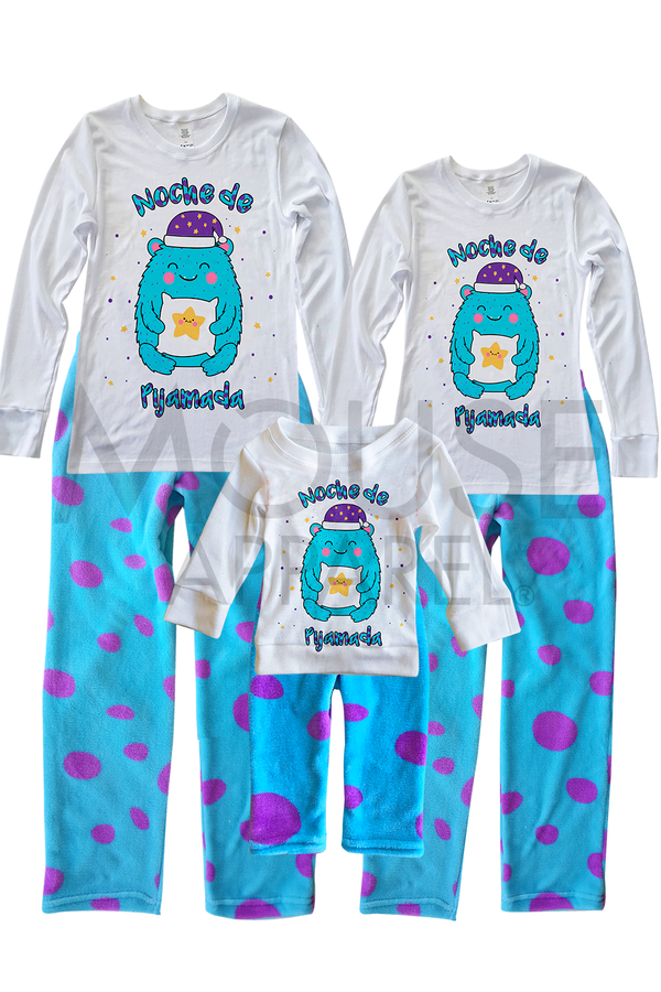 Pijama polar 6 a 24 meses. Baby Monster