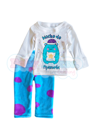 Pijama polar 3 y 4 Años. Baby Monster