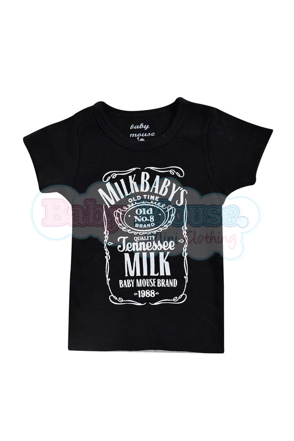 Playera Kids. Milk baby´s