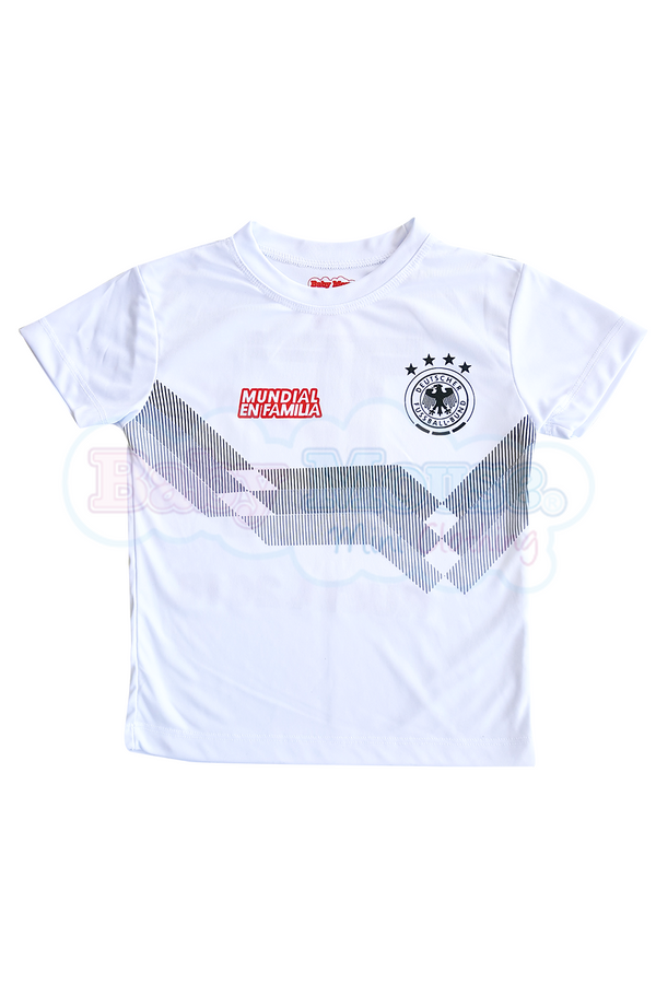 Playera Kids Mundial. Alemania