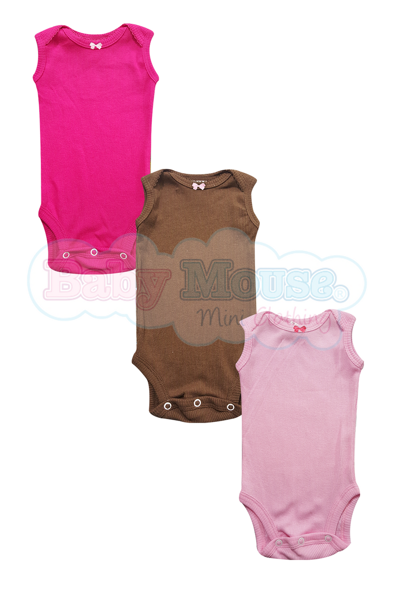 3 - Pack. Body camiseta sin mangas
