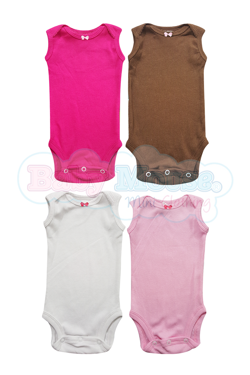 4 - Pack. Body camiseta sin mangas