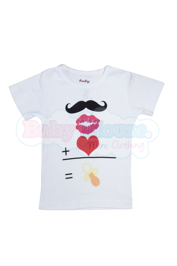 Playera Kids Bigotes.