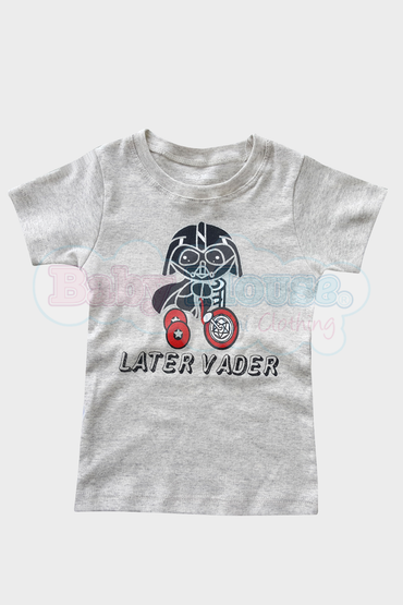 Playera kids. Later Vader