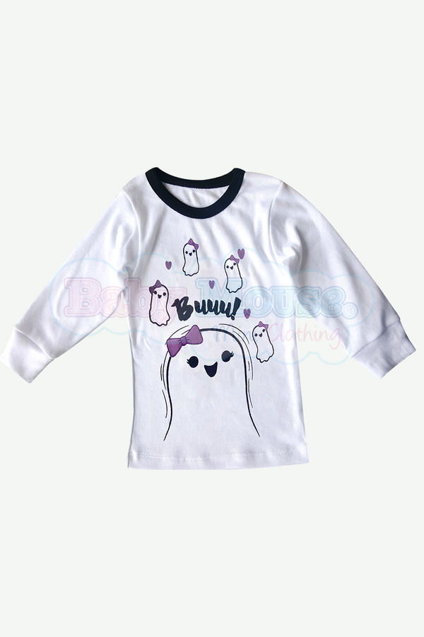 Playera Kids Manga Larga Niña. Buu