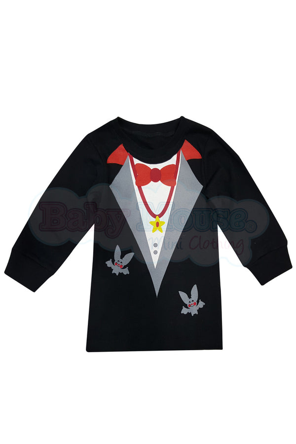 Playera Manga larga Kids. Vampirito