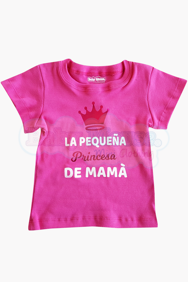 Playera Kids . Princesa de mamá