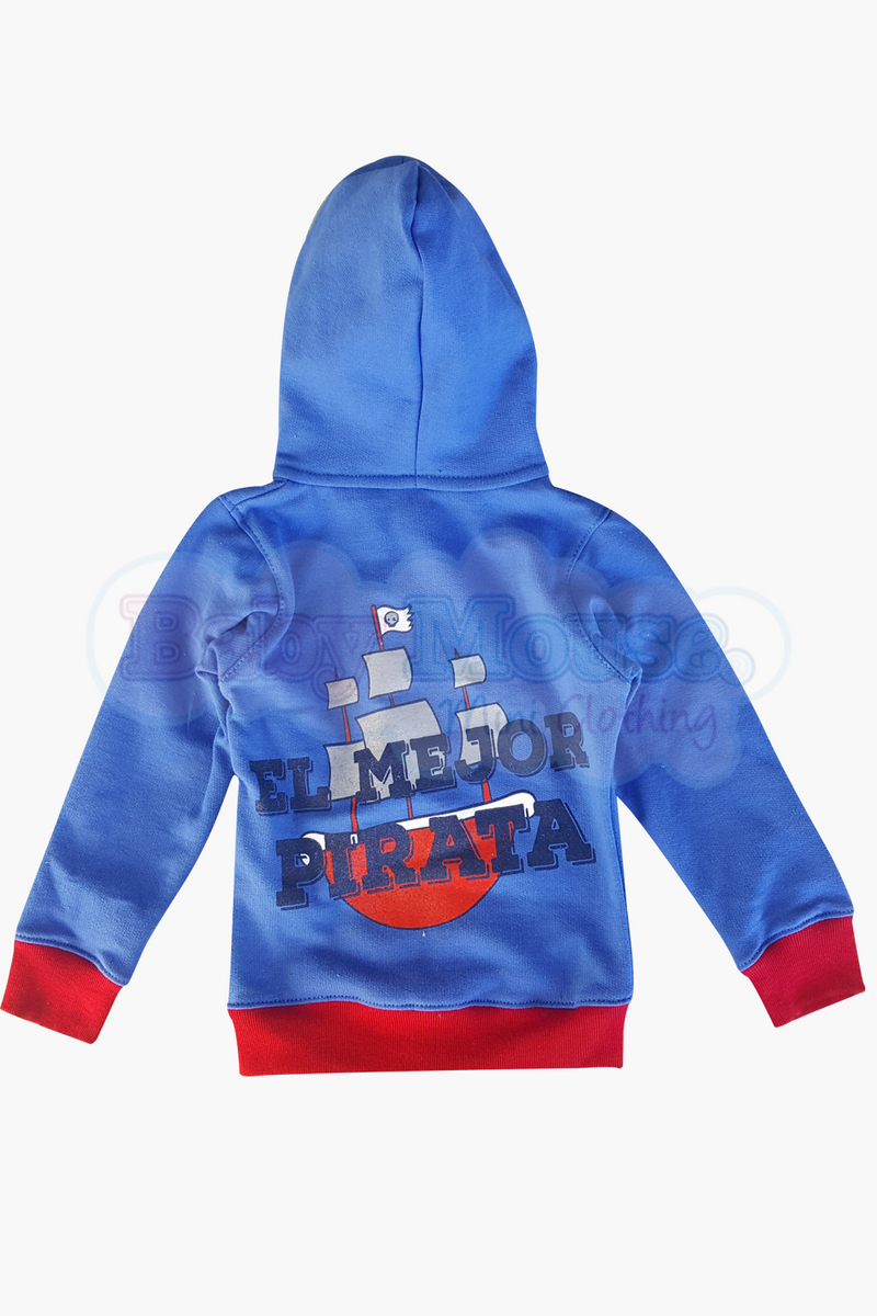 Set 3 pzas. Sudadera Pirata